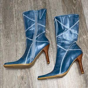 Bp Sundance Lea Leather Midcalf Boots